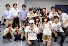 宇都宮メディア・アーツ専門学校オフィシャルブログ-清水孝宏さんと記念撮影